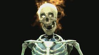 getlinkyoutube.com-Mortal Kombat 9 Skeleton Fatalities