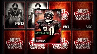 getlinkyoutube.com-Madden NFL 16 Mobile Gameplay - MOST FEARED BRIAN DAWKINS! Most Feared Bundle Pack Opening
