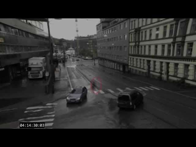 GHOST CAUGHT ON TAPE IN OSLO, NORWAY!