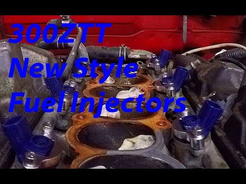 300ZTT Old to New Style Fuel Injectors