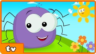 getlinkyoutube.com-Incy Wincy Spider | Itsy Bitsy Spider | Plus Lots More Popular Nursery Rhymes By Hooplakidz TV