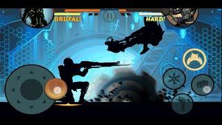 getlinkyoutube.com-Shadow Fight 2 - Plasma Rifle Titan weapon updated