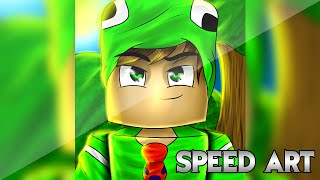 getlinkyoutube.com-Desenhando Tkc Games | @TkcGames1 | Skin Cartoon