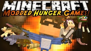 getlinkyoutube.com-Minecraft MODDED HUNGER GAMES : MORPH MOD!