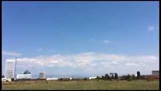 getlinkyoutube.com-First Flight HobbyKing Sky Eye EPO FPV/Glider  2000mm