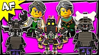 getlinkyoutube.com-Lego Ninjago GARMADON Minifigure Complete Collection