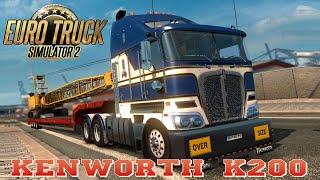 getlinkyoutube.com-Euro Truck Simulator 2 mod truck KENWORTH K200