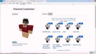 getlinkyoutube.com-How to make your roblox character cool