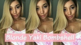 """Outre natural yaki 24"""" wig review DR27613 (Under $30) 