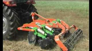 getlinkyoutube.com-FRM Disc harrow Rinieri Frangizzolle a dischi
