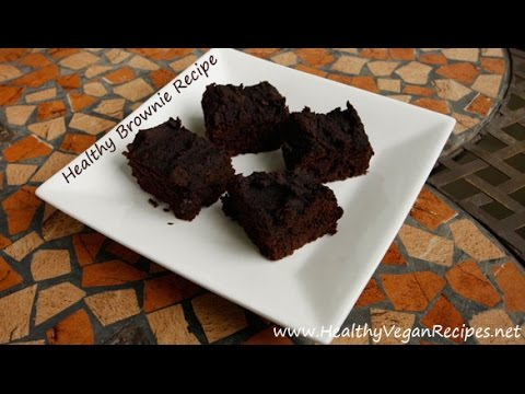 Healthy Brownie Recipe - Yup, You Can Do That!