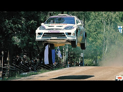 Flying High - WRC Rally Finland with pure engine sounds (years 1999-2010) --WoudI3gGvk
