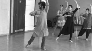 Learn steps on O Re Piya- Workshop with Chinese Students- Devesh Mirchandani