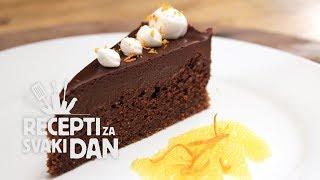 getlinkyoutube.com-Čokoladna torta - video recept