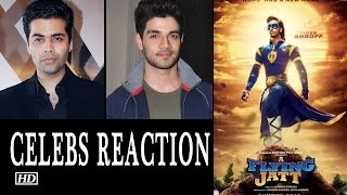 A Flying Jatt Movie | Celebs Review