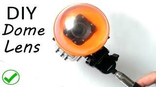 getlinkyoutube.com-How to make Dome lens for gopro or sjcam