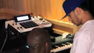 AraabMUZIK en studio avec ASAP Rocky