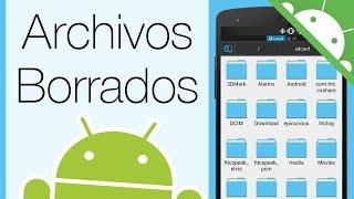 getlinkyoutube.com-Como Recuperar Archivos Borrados de Android