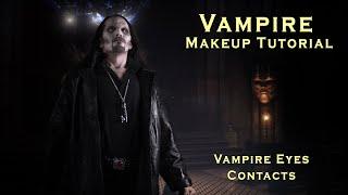 getlinkyoutube.com-Vampire Makeup How-to, Dark Vampire Halloween Makeup Tutorial
