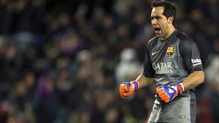 getlinkyoutube.com-Claudio Bravo - FC Barcelona - Best Saves - 2014/15 HD