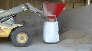 Keltec Bag Fill Bucket distributed in UK by AMIA Ltd www.agrimarketia.com