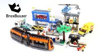 getlinkyoutube.com-Lego City 60097 City Square - Lego Speed Build
