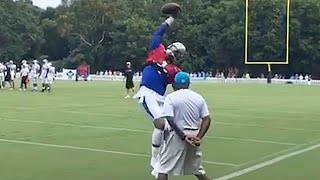 getlinkyoutube.com-Cam Newton & JJ Watt Make One-Handed Catches in Practice