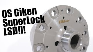 OS Giken SuperLock for Nissan 350z and 370z