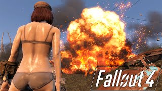 getlinkyoutube.com-Fallout 4 Mod Review 4 - Sweaty Body, Better Piper Outfit and First Non-Texture Mod - Boobpocalypse