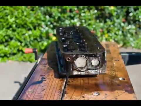 Шикарное видео ремонт ретро автомобиля