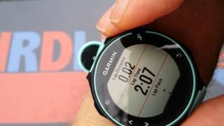 getlinkyoutube.com-Garmin Forerunner 235 Test And Settings!