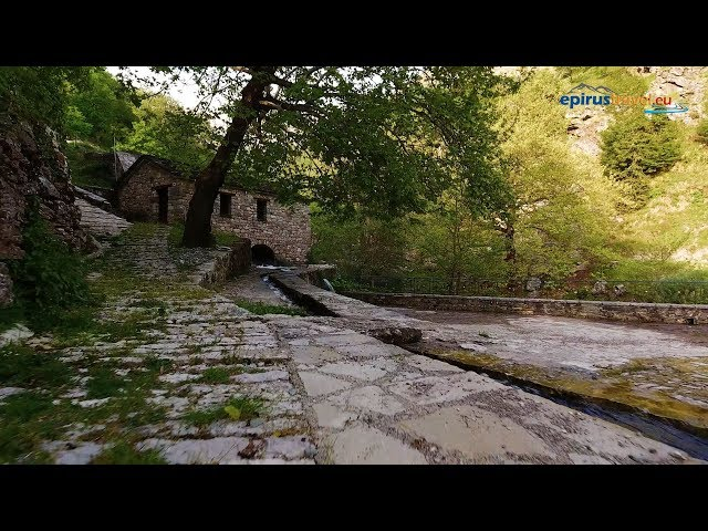 Matsouki in Ioannina prefecture drone flight