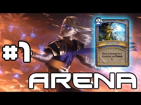 Hearthstone Arena - Frostbolt Frenzy! #1 (Mage)