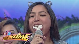 It's Showtime Copy-Cut: Dawn Chang receives the punishment