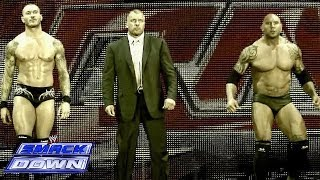 Evolution reunites to humble The Shield on Raw: SmackDown, April 18, 2014