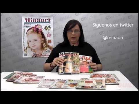 Minauri Quili QMCreativ@s Revistas Confección y Manualidades.wmv