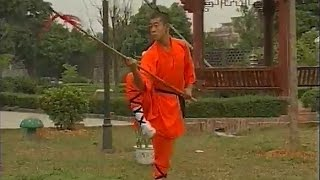 getlinkyoutube.com-Shaolin kung fu 13 spear