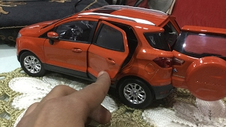 Diecast Unboxing-2014 Ford EcoSport (mars red) 1/18 Paudi Models