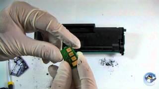 Inside Samsung MLT-D101S Black Laser Toner Cartridge