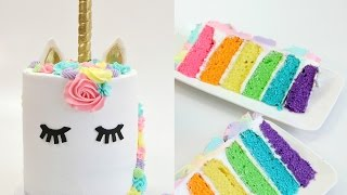 Amazing UNICORN Compilation CAKE DONUT HOT CHOCOLATE CHEESECAKE STRAWBERRIES - CAKE STYLE