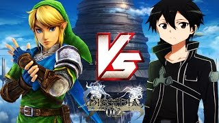 getlinkyoutube.com-【LINK VS KIRITO!】- Dissidia 012 MODS