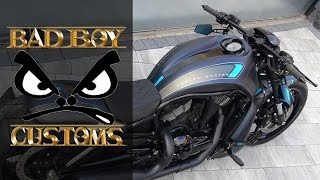"getlinkyoutube.com-Harley-Davidson Night Rod ""Unique"" by Bad Boy Customs | Motorcycle Muscle Custom Review"