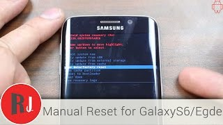 getlinkyoutube.com-How to Manually Factory reset the Samsung Galaxy S6 Edge in stock Android recovery