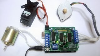 getlinkyoutube.com-arduino + MotorShield L293D Ponte H