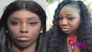 "getlinkyoutube.com-Ratchet Fl~Sidechick gets her leg severed by the main chick after fighting over ""their man"""