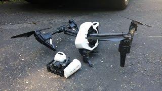 dji inspire 1 crash drone human error