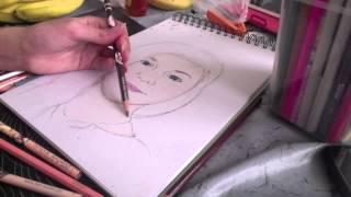 getlinkyoutube.com-Drawing MissLisibell :)