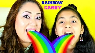 getlinkyoutube.com-RAINBOW TONGUES!!Color Your Mouth Crayola Candy Lollipops Dippers |B2cutecupcakes