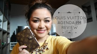 getlinkyoutube.com-Louis Vuitton Agenda PM Review