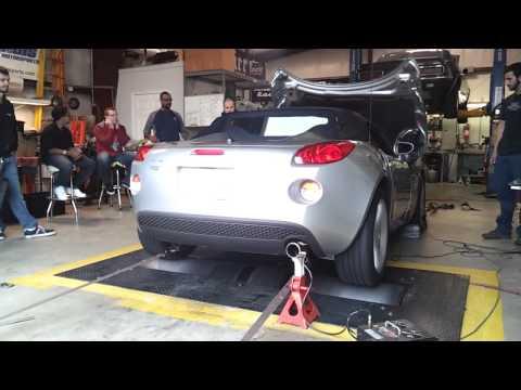 2008 Pontiac Solstice 2.4 dyno run
